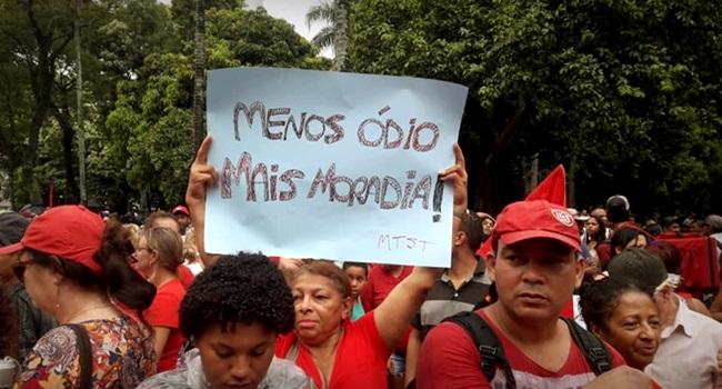 Divididos cairemos Brasil centelha de esperança