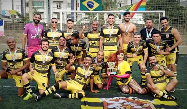 Equipe de futebol homossexual títulos jogadores rio de janeiro