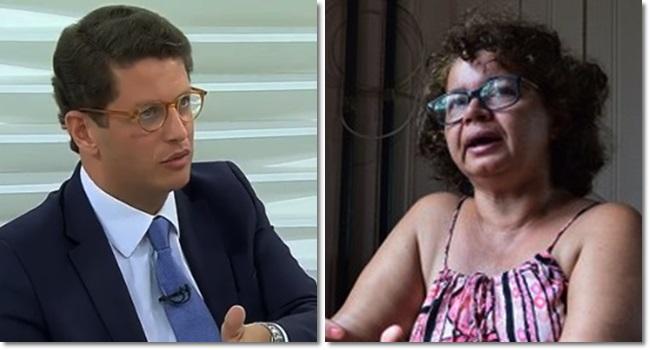 Angela Filha de Chico Mendes reage ao comentário de Ricardo Salles