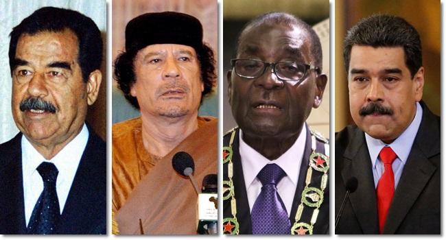 últimos golpes de Estado ligados ao petróleo Venezuela Líbia Iraque Zimbabue