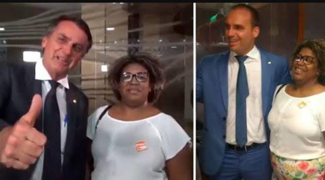 candidata laranja Cleuzenir Barbosa