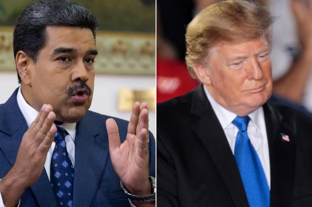 Nicolás Maduro Donald Trump Guerra Fria