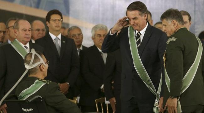 militares destruição da previdência governo bolsonaro