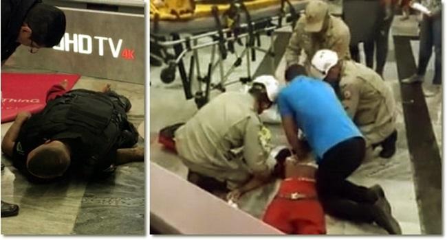 Morte jovem negro segurança mata-leão Extra revolta cachorro no Carrefour