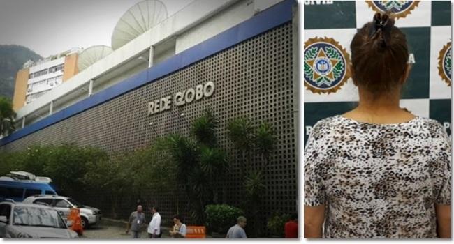 Mulher que livrou crime de donos da Globo é presa