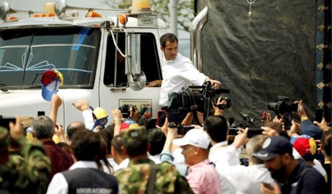 observações ajuda humanitária não entrou Venezuela vitória Maduro Esquerda