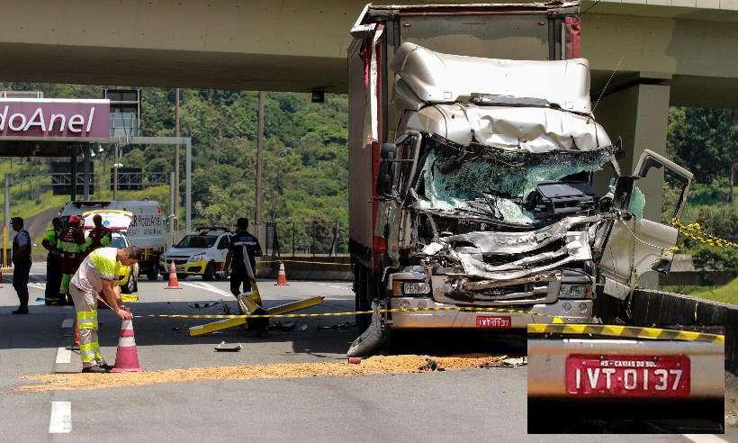 caminhão placa boechat