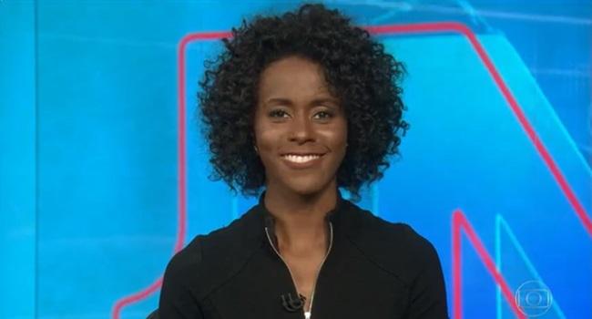 Por que Maju Coutinho Jornal Nacional Globo negros jornalismo mulher negra