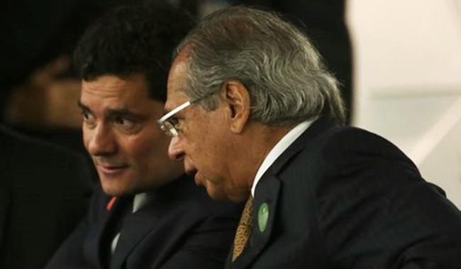 governo Bolsonaro combate à sonegação ricos justiça Moro Paulo Guedes
