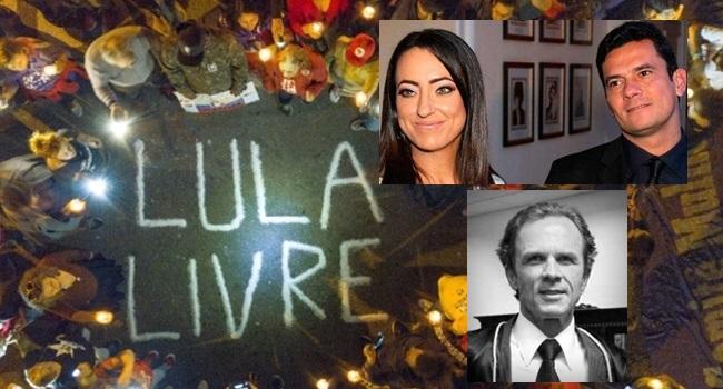 Primo de Rosângela Moro age contra a vigília Lula Livre