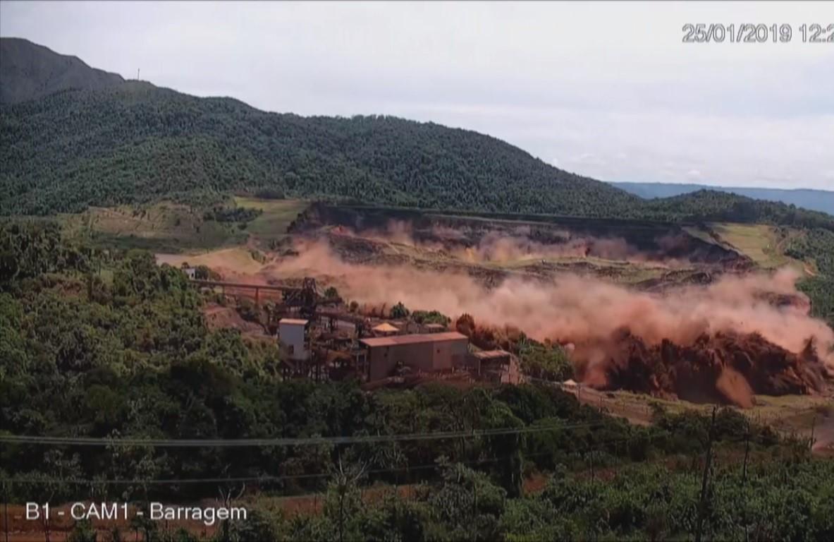vídeo lama da vale brumadinho
