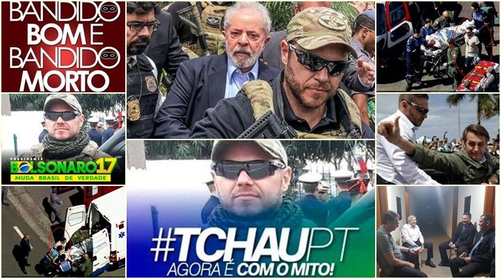 policial escoltou Lula danilo campetti