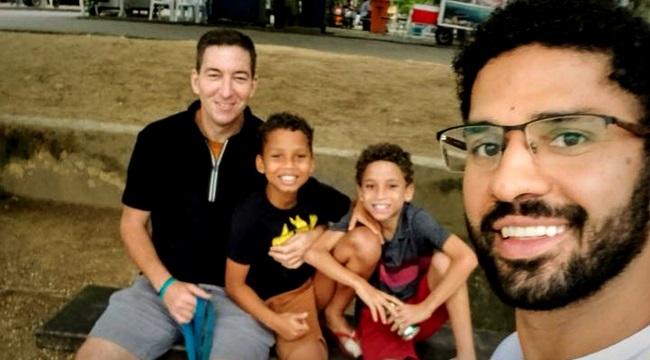 David Miranda celebra adoção dos filhos dia mais feliz da minha vida