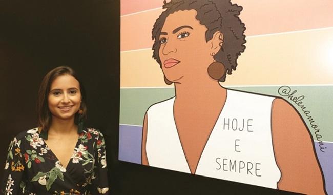 Exposição no Rio ressalta violência contra mulher