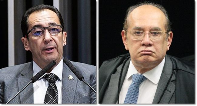 Gilmar Mendes xingado Jorge Karuju cpi lava toga senado