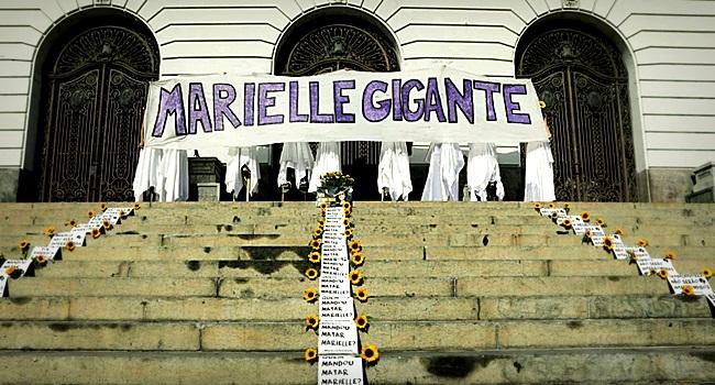 Marielle Franco PSOL homenageada no Brasil mundo milícia rio de janeiro