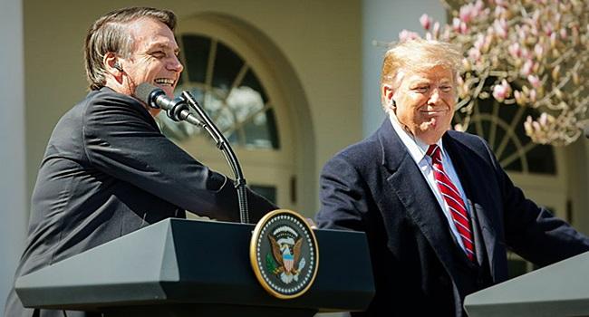 submissão explícita aos EUA ex-ministro celso amorim bolsonaro trump