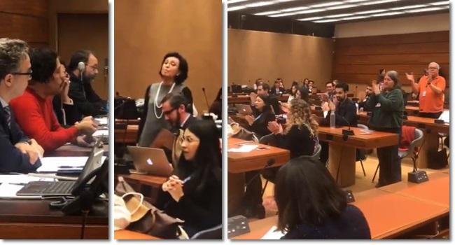 ONU embaixadora do Brasil barraco Jean Wyllys direitos humanos Suíça