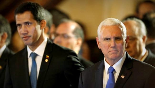 Mike Pence eua critica Juan Guaidó venezuela