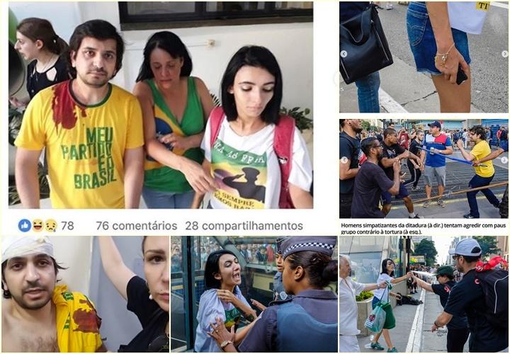 pró-ditadura antifascistas avenida paulista