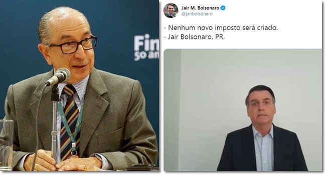 pressão de evangélicos Bolsonaro novo imposto dizimo igreja