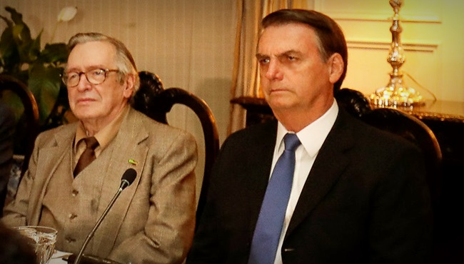Olavo de Carvalho Bolsonaro critica direita