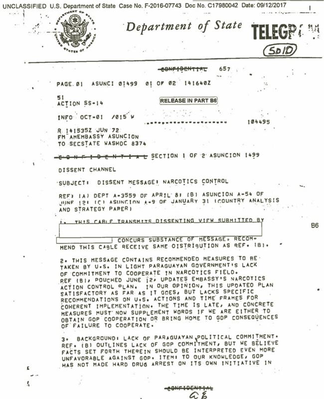 Alfredo Stroessner documentos sobre o genocida louvado por Jair Bolsonaro