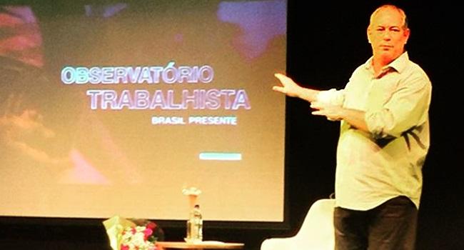 Governo Bolsonaro incompetente criminoso Ciro Gomes Rio de Janeiro