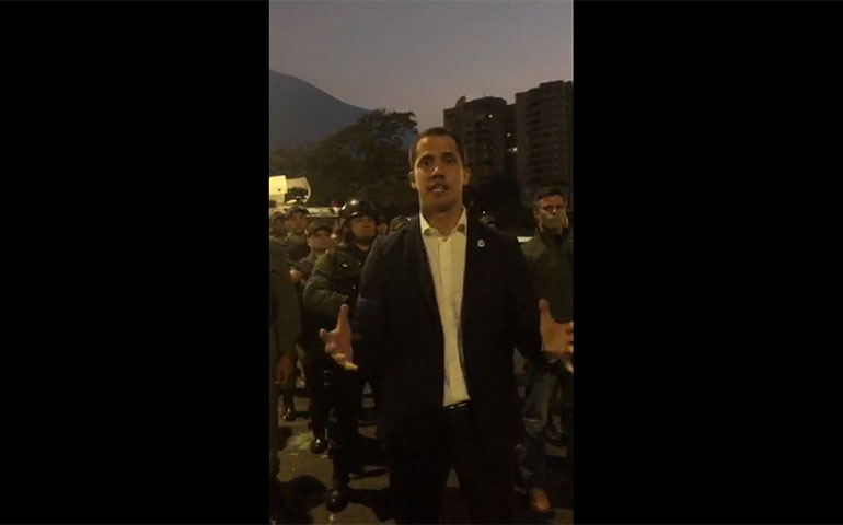 tentativa de golpe venezuela