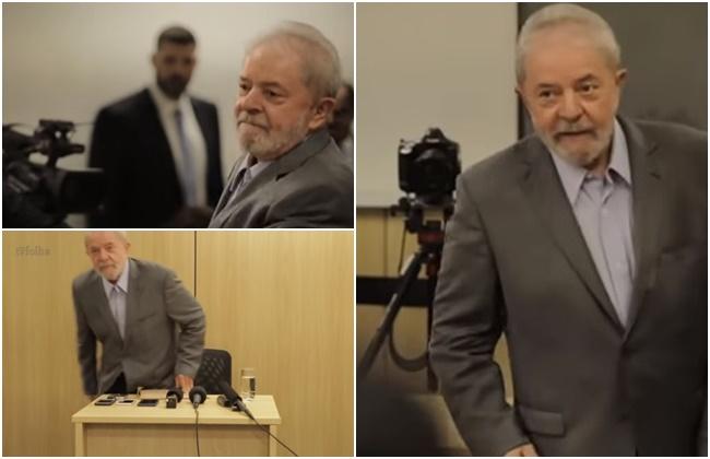 Lula entrevista na prisão