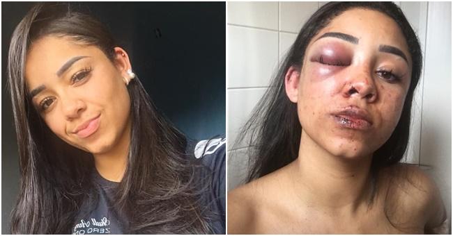 Mariana Orbolato agredida Jorge Henrique
