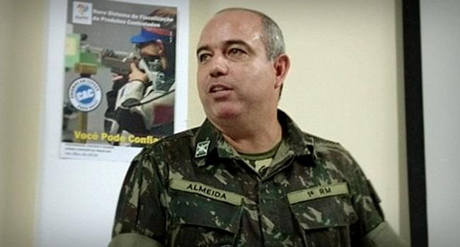 Militar é preso em flagrante por desvio de armas para clube de tiros
