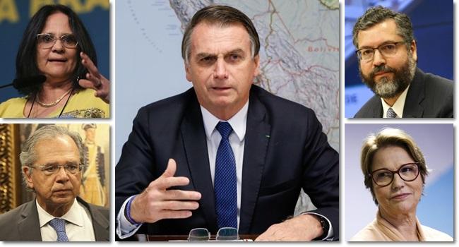 ministros folclóricos governo Bolsonaro estratégica direita neoliberalismo