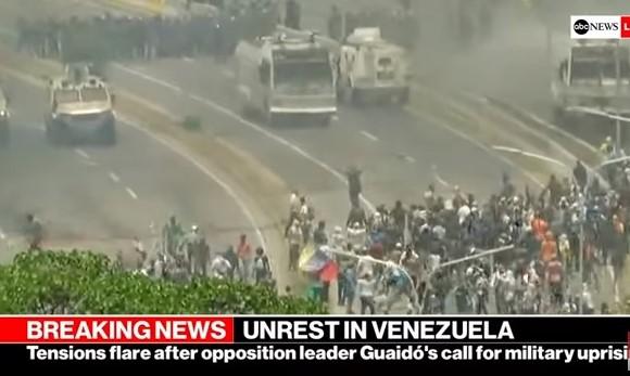 confrontos na venezuela guerra