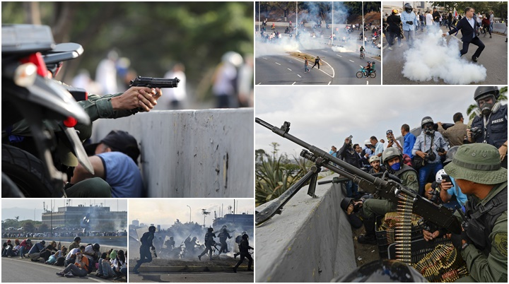 venezuela confrontos