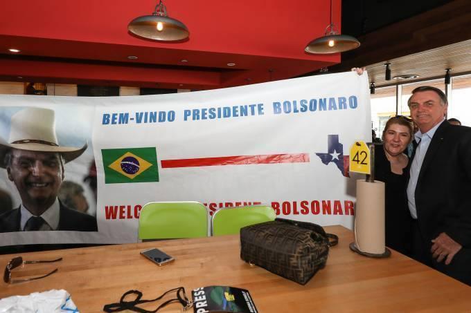 viagem Bolsonaro Dallas
