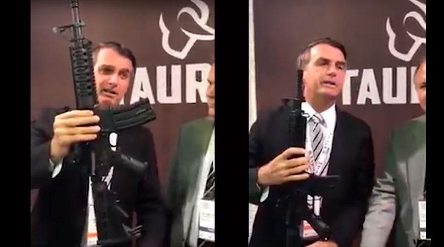 bolsonaro fuzil da taurus