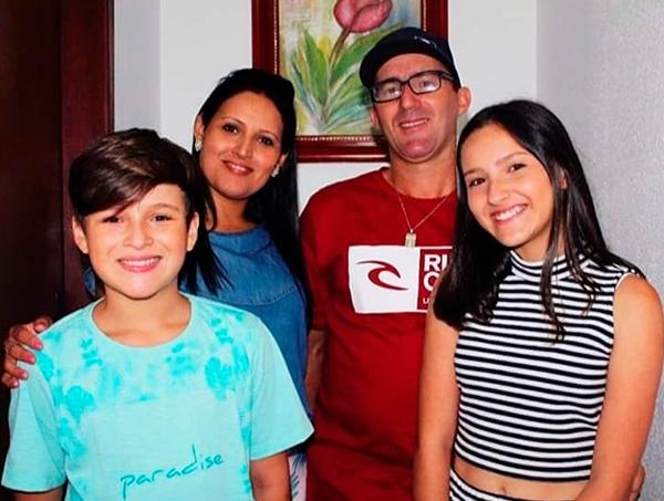 família brasileira morreu chile
