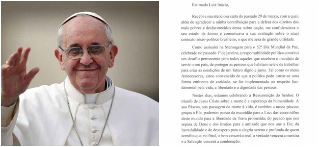 carta do papa francisco