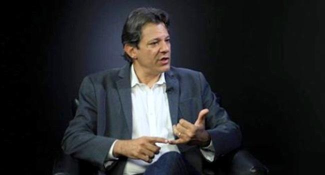 Fernando Haddad Nova República terminou bolsonaro psdb