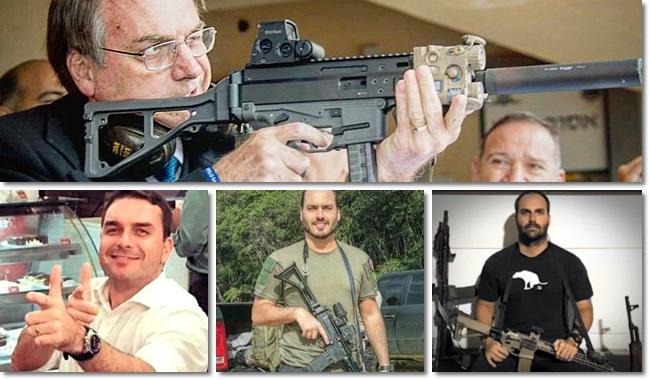 fim monopólio Taurus interessa ao clã Bolsonaro armas de fogo