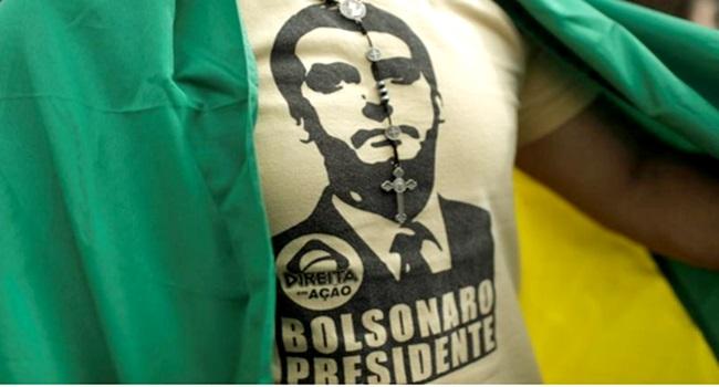 Homens brancos foram maioria na manifestação pró-Bolsonaro