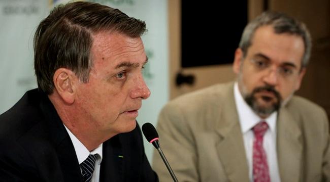 Jair Bolsonaro contra a educação Abraham Weintraub chocolate