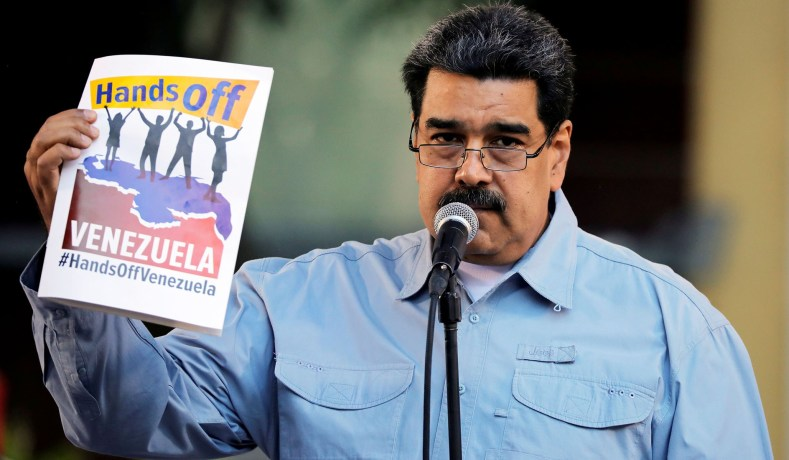 Maduro Venezuela trump louco