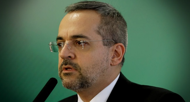 Valor de prova saeb inep mil vezes anunciado ministro da Educação