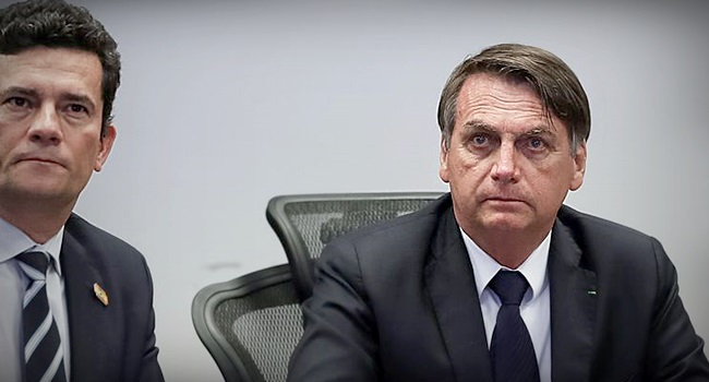 Bolsonaro ainda não pretende lançar Sergio Moro às feras lava jato