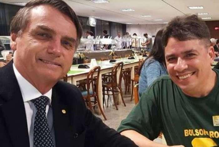 Bolsonaro e Carlos Nagem Petrobras