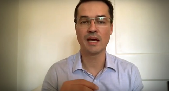Dallagnol grava vídeo defender criminoso invadiu nossos celulares