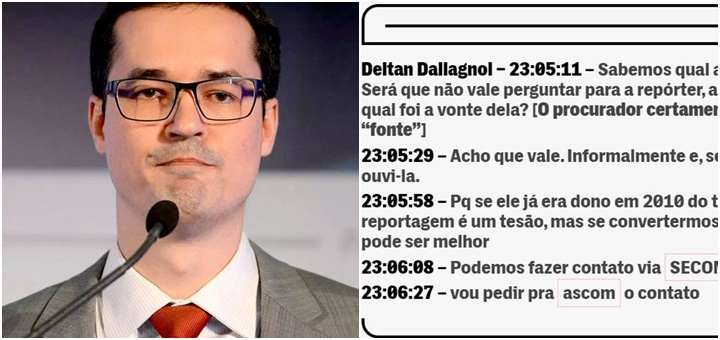 Deltan Dallagnol Lula tesão