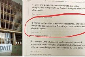 dnit-faz-selecao-ideologica-de-trabalhadores-com-questoes-sobre-bolsonaro